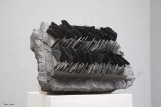 Diabase et Ardoise - 43 x 35 x 13 cm - 2008