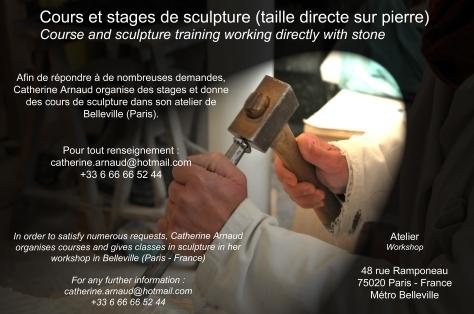 cours de sculpture et stage-1