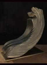 Pierre : granite / Dimensions : 40 x 37 x 20 cm / Année : 2014