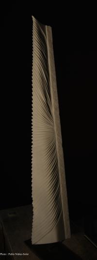 Pierre : Marbre de Macedoine / Dimensions : 110 x 8,5 cm - Année : 2015