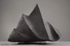Marbre noir de Belgique - 40 x 55 x 15 cm - 2005