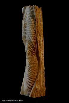 Jaune de Sienne - 51 x 11 x 16 cm - 2017