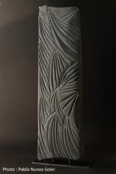 """Empreintes"" - Granite Belge - 54 x16 cm - 2020"